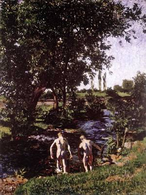 Painting - Summer 1901 by Karoly Ferenczy