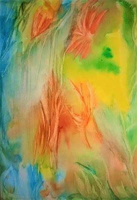 Inner World Painting - Summer Abstract Mood by Madina Kanunova