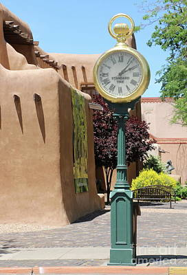 Photograph - Summer Afternoon In Santa Fe by Christiane Schulze Art And Photography