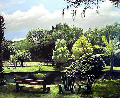 Painting - Summer Afternoon by James R Hahn