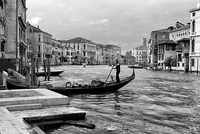 Photograph - Summer Afternoon On The Grand Canal by John Hoey