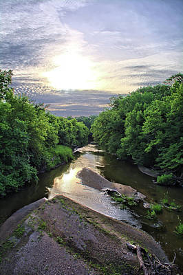 Photograph - Summer Along Maynes Creek by Bonfire Photography
