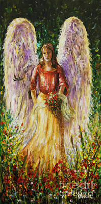 Summer Angel Art Print