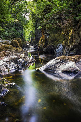 Photograph - Summer At Fairy Glen by Ian Mitchell