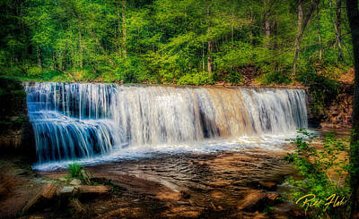 Photograph - Summer At Hidden Falls by Rikk Flohr