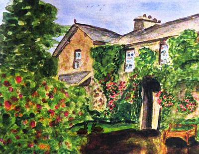 Painting - Summer At Hilltop Farm by Angela Davies