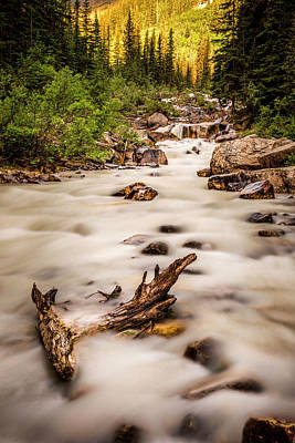 Summer At Lake Louise Banff Alberta Original