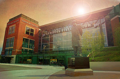 Photograph - Summer At Lambeau by Joel Witmeyer