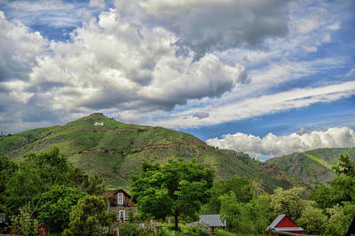 Photograph - Summer At Mount Zion Golden Colorado by Ann Powell