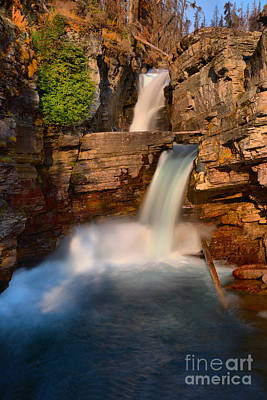 Photograph - Summer At St. Mary Falls by Adam Jewell