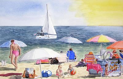 Summer At The Jersey Shore Original by Barry Levy