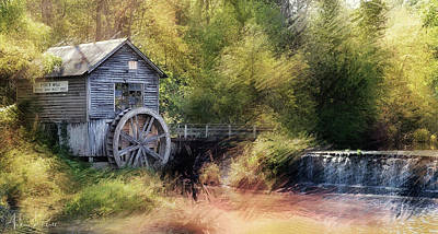 Photograph - Summer At The Mill by Andrea Platt