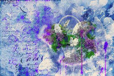 Mixed Media - Summer Background by Ractapopulous