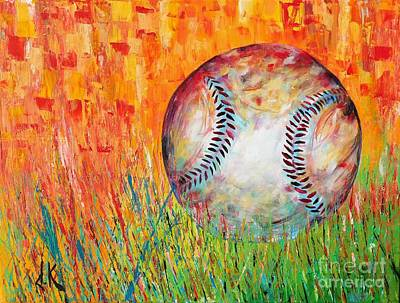 Summer Ball Original by David Keenan