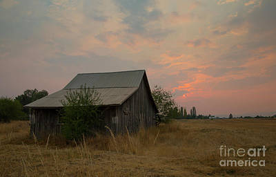Photograph - Summer Barn by Idaho Scenic Images Linda Lantzy