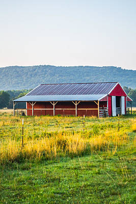 Photograph - Summer Barn by Shelby Young