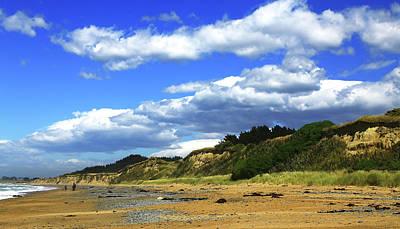 Photograph - Summer Beach With Horse by Nareeta Martin