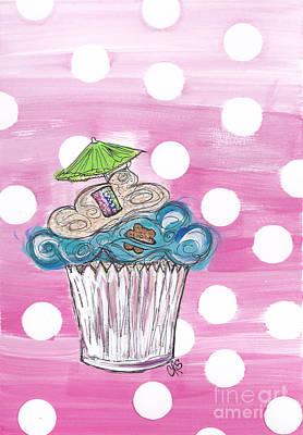 Summer Bear Cuppy Cake Original