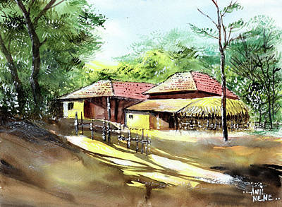 Painting - Summer Begins by Anil Nene