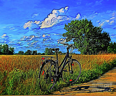 Photograph - Summer Biking 14418 by Ray Shrewsberry