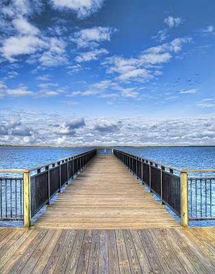 Dock Photograph - Summer Bliss by Tammy Wetzel