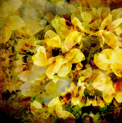 Digital Art - Summer Bloom - Abstract Flower Art  by Ann Powell