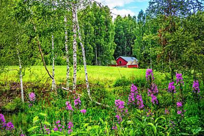 Photograph - Summer Blooms  by Debra and Dave Vanderlaan