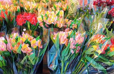 Photograph - Summer Blooms For Sale by Miriam Danar