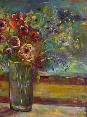 Painting - Summer Blooms by Gail Butters Cohen