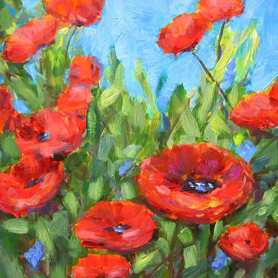 Painting - Summer Blooms by Robie Benve