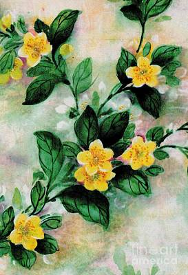 Painting - Summer Blooms by Writermore Arts