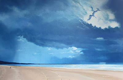 Summer Blues Art Print by Paul Newcastle
