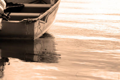 Photograph - Summer Boating Reflections by Cathy  Beharriell