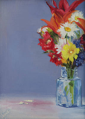 Painting - Summer Bouquet by Nila Jane Autry