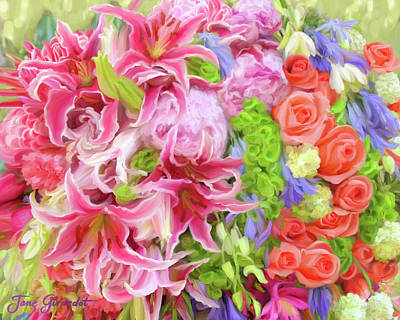 Painting - Summer Bouquet by Jane Girardot