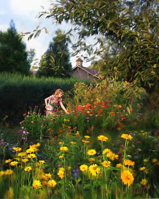 Photograph - Summer Bouquet by Jean Hildebrant