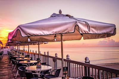 Photograph - Summer Breakfast At The Beach by Debra and Dave Vanderlaan