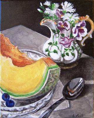 Painting - Summer Breakfast by Laura Aceto