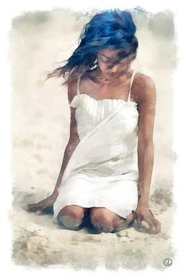 Summer Breeze Art Print by Gun Legler