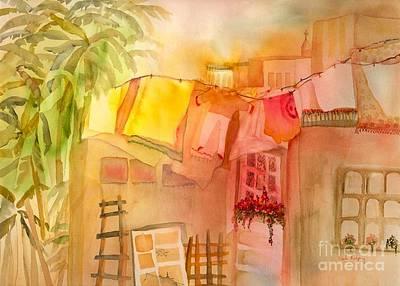 Summer Breeze Art Print by Neela Pushparaj