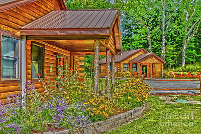 Photograph - Summer Cabins by William Norton