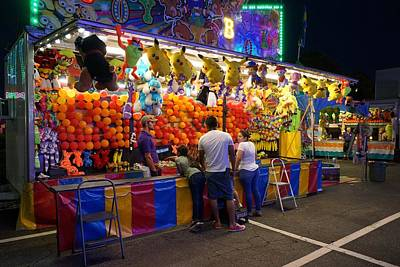Photograph - Summer Carnival 3 by Rodney Lee Williams