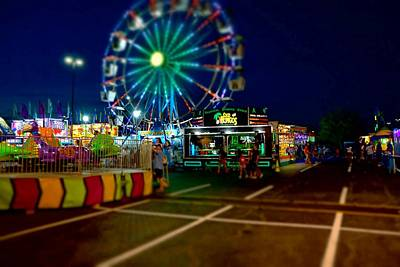 Photograph - Summer Carnival 6 by Rodney Lee Williams