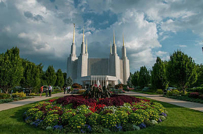 Photograph - Summer Church Of The Latter Day Saints by Brian Green