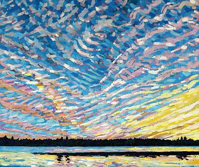 Painting - Summer Cirrus by Phil Chadwick