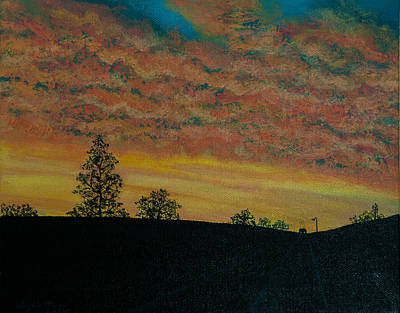 Painting - Summer Cloud Burst by Elizabeth Mundaden