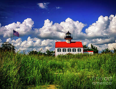 Photograph - Summer Clouds At East Point by Nick Zelinsky