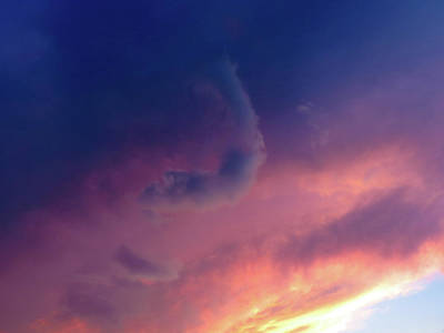 Photograph - Summer Cloudscape 2 by Shawna Rowe
