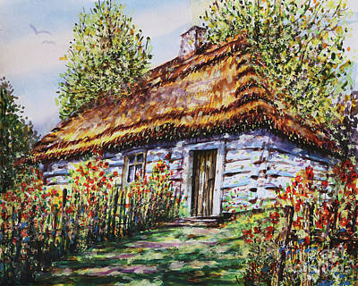 Painting - Summer Cottage by Dariusz Orszulik
