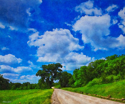 Photograph - Summer Country Road by Anna Louise